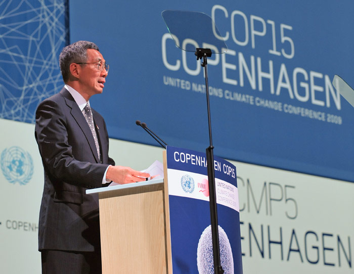 Singapore's National Statement delivered by Prime Minister Lee Hsien Loong at Copenhagen